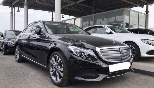 Bán Mercedes C250 năm sản xuất 2017, màu đen như mới