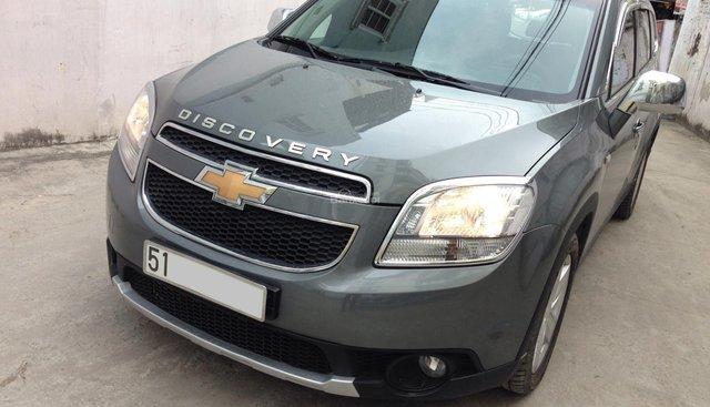 Cần bán xe Chevrolet Orlando 1.8LTZ 2014 màu xám chì, BSTP