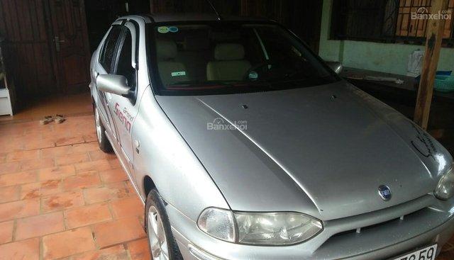 Cần bán xe Fiat Siena HLX 1.6 sản xuất năm 2003, màu bạc