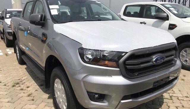 Bán Ford Ranger XLS 2.2 AT phiên bản 2019, màu bạc, nhập khẩu, giá tốt nhất, hỗ trợ trả góp - LH: 0907782222