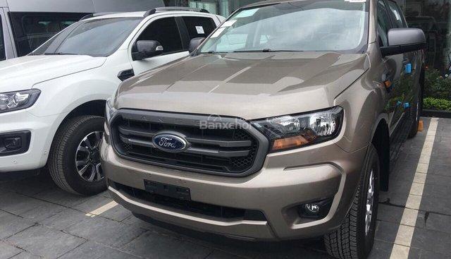 Bán Ford Ranger XLS 2.2 MT phiên bản 2019, màu ghi vàng, nhập khẩu, giá tốt nhất, hỗ trợ trả góp - LH: 0907782222