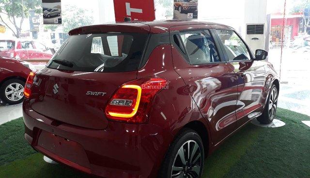 Bán ô tô Suzuki Swift GLX - màu đỏ, nhập khẩu 100% sở hữu xe chỉ với 140 triệu