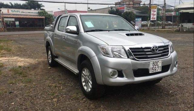 Cần bán Toyota Hilux đời 2012, màu bạc, giá chỉ 480 triệu