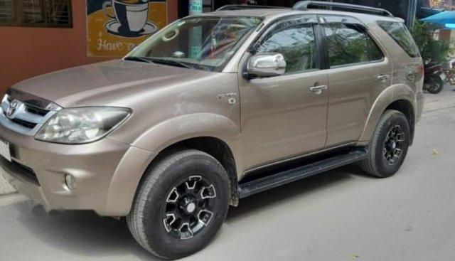 Cần bán Toyota Fortuner đời 2007, màu vàng, nhập khẩu nguyên chiếc, xe gia đình