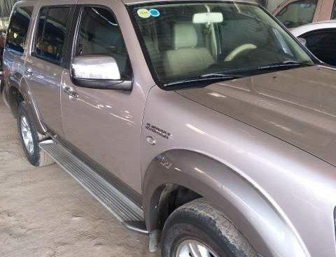 Cần bán xe Ford Everest sản xuất 2008, màu xám, 370 triệu