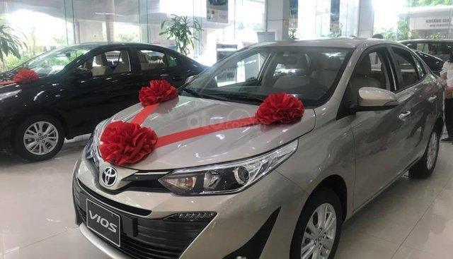 Bán Toyota Vios 2019 giảm giá tiền mặt cực sốc, giao xe ngay, hỗ trợ mọi thủ tục