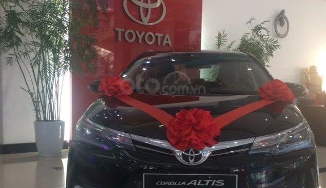 Bán Toyota Corolla Altis 2019 giảm giá tốt, khuyến mại lớn, giao xe ngay, LH: 0988859418