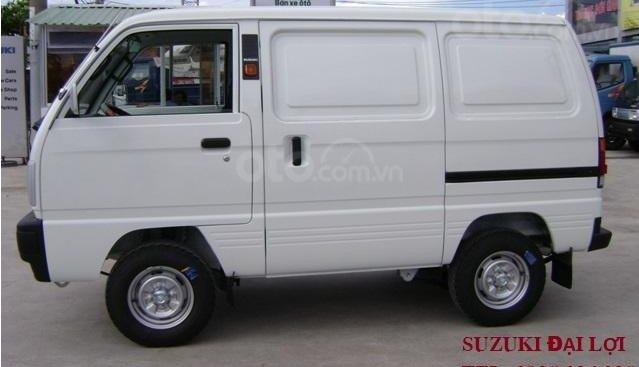 Bán ô tô tải Van Suzuki 490kg chạy giờ cấm 24/7, giá tốt, hỗ trợ góp 80%. Liên hệ 0938 036 038 để được hỗ trợ