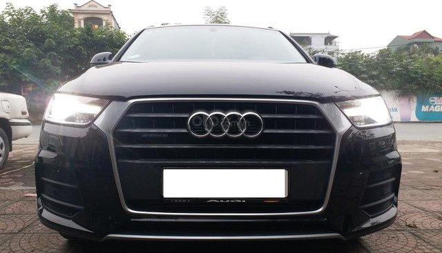 Bán Audi Q3 2.0 sản xuất 2016, đăng ký 2017, màu đen /da bò, đăng ký tư nhân chính chủ