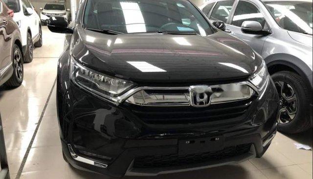 Bán ô tô Honda CR V L năm sản xuất 2018, màu đen, xe nhập