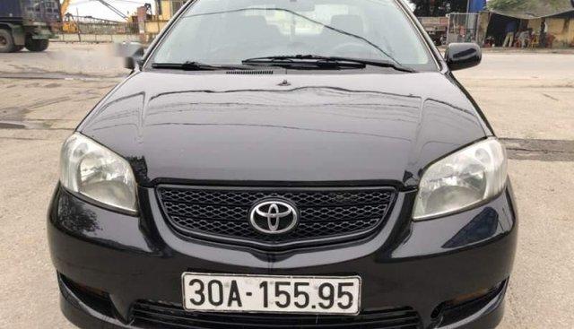 Bán xe Toyota Vios đời 2005 màu đen, xe gia đình đang đi sử dụng thường xuyên, không dịch vụ