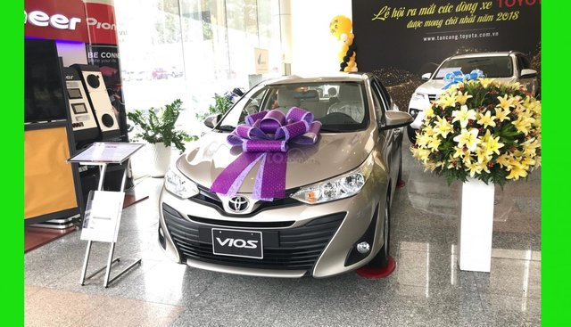 Toyota Tân Cảng Vios 1.5 tự động-Trả trước 150tr nhận xe-xe giao ngay đủ màu-0933000600