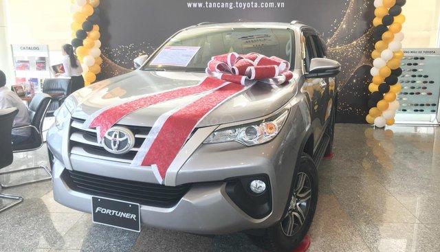 Toyota Tân Cảng Fortuner 2.4G máy dầu số sàn, xe giao ngay đủ màu, hỗ trợ vay 90%, trả trước 250tr nhận xe- 0933000600