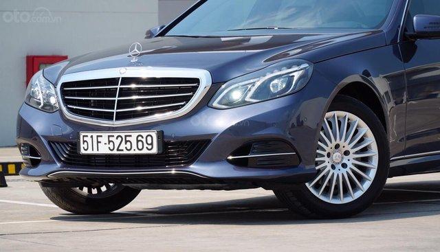 Bán Mercedes E200 phiên bản Edition năm sản xuất 2015, màu xanh lam, cam kết chất lượng bao kiểm tra hãng
