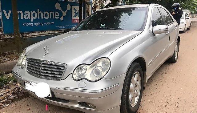 Bán ô tô Mercedes C200 Kompressor MT sản xuất năm 2003, màu bạc giá cạnh tranh
