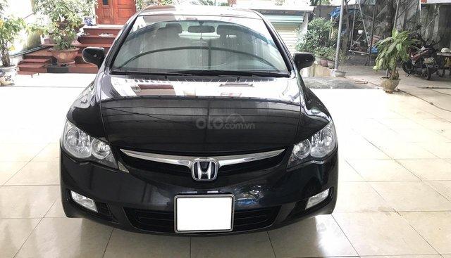 Cần bán Honda Civic 1.8 AT năm 2008, màu đen, hàng cực tuyển