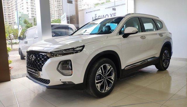 Bán Hyundai Santafe 2019 giá hấp dẫn nhất miền nam, tặng gói phụ kiện hấp dẫn, LH 0961730817