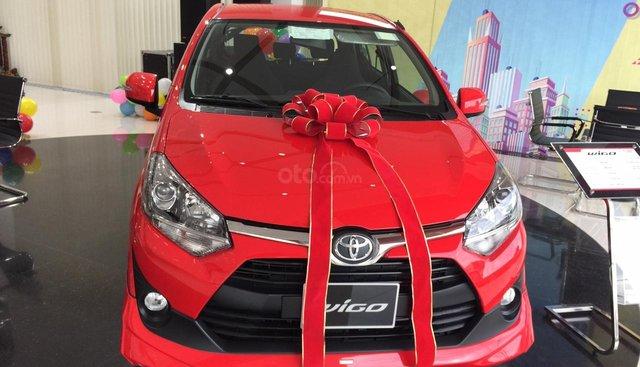 Bán Toyota Wigo 1.2 số sàn,Đủ màu, Em giao xe Ngay, Giá Thương Lượng