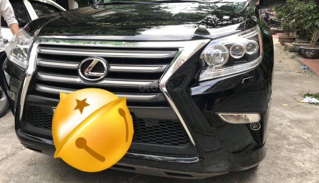 Bán Lexus GX 460 Luxury nhập Mỹ đời 2014, ĐK 2015 màu đen xe siêu chất