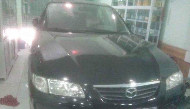 Bán Mazda 626 2.0 MT sản xuất 2001, màu đen giá cạnh tranh