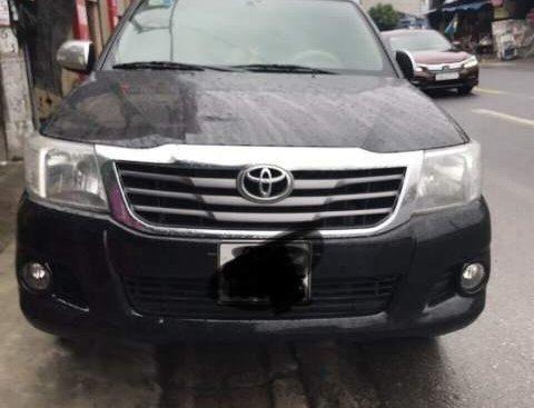 Bán ô tô Toyota Hilux 2012, màu đen