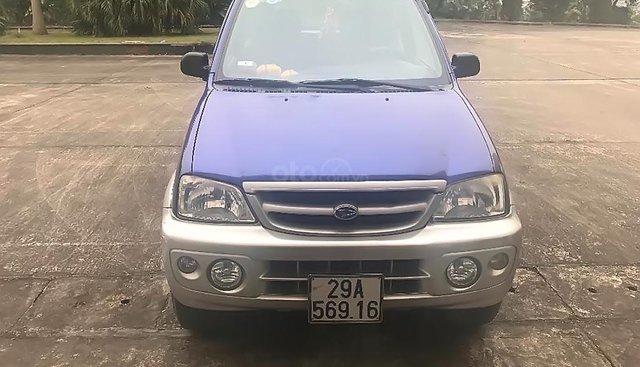 Bán Daihatsu Terios 1.3 MT năm sản xuất 2007, màu xanh lam