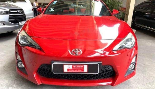 Cần bán Toyota FT 86 sản xuất 2012, màu đỏ, nhập khẩu