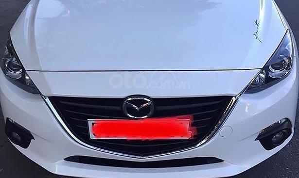 Cần bán Mazda 3 sản xuất năm 2016, màu trắng