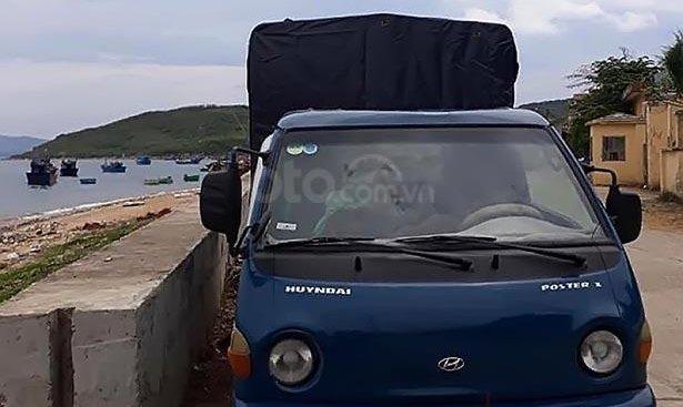Bán xe cũ Hyundai Porter năm 1998, màu xanh lam, xe nhập