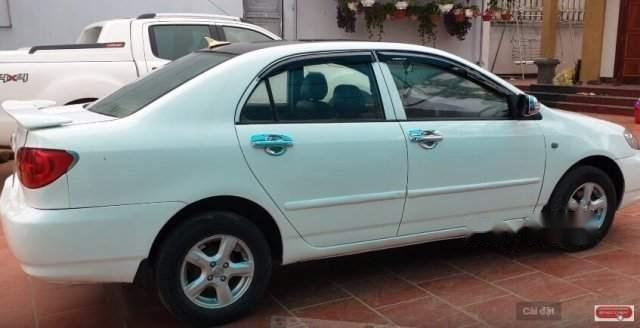 Bán Toyota Corolla sản xuất 2003, màu trắng, nhập khẩu