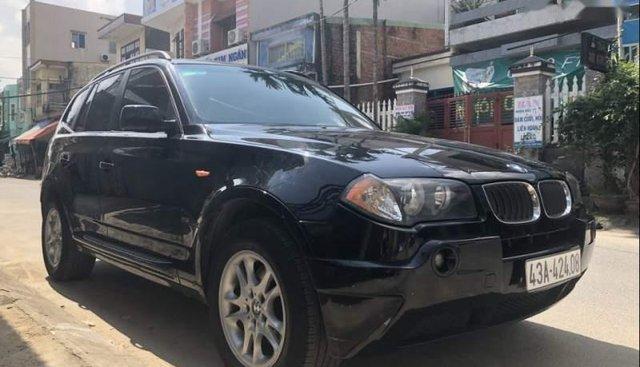 Cần bán lại xe BMW X3 đời 2008, màu đen, xe nhập, chính chủ
