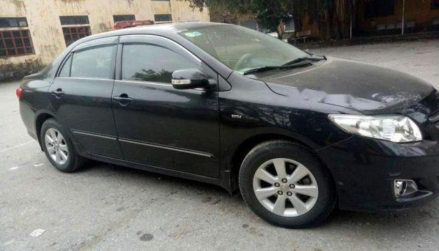 Cần bán lại xe Toyota Corolla altis năm 2009, màu đen, giá tốt