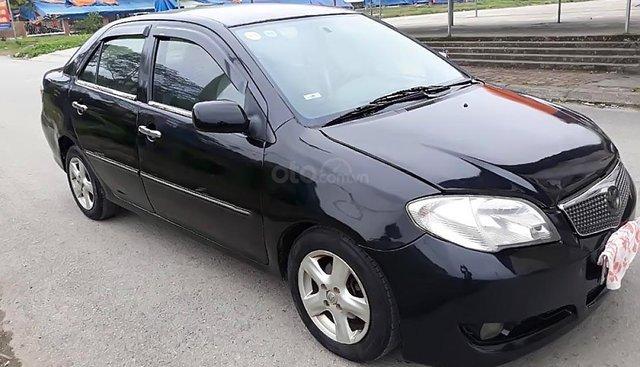 Cần bán gấp xe Vios G đời 2006, số tay, máy xăng, màu đen, đã đi 19000 km