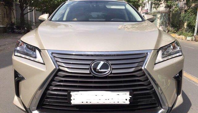 Cần bán Lexus RX200T đời 2016, xe đi lướt 13.000km màu nâu, xe nhập, cam kết chất lượng bao kiểm tra hãng