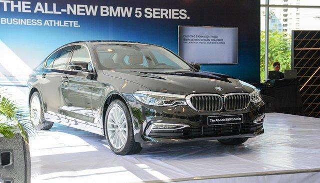 Đánh giá xe BMW 5-Series 2019 thế hệ mới tại Việt Nam