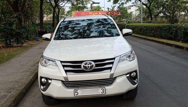 Bán Toyota Fortuner 2.4G 4x2MT đời 2017, màu trắng, nhập khẩu, cần tiền bán gấp 1 tỷ 035 triệu