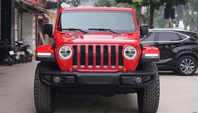 Bán Jeep Wrangler Rubicon 2018, màu đỏ, nhập khẩu