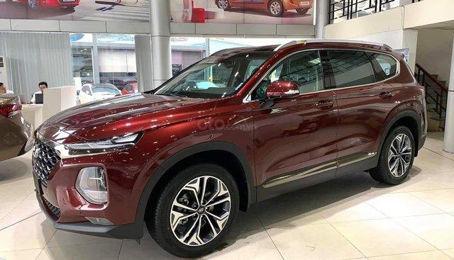 Đánh giá xe Hyundai Santa Fe 2019 bản dầu cao cấp tại Việt Nam