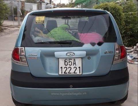 Cần bán gấp Hyundai Getz đời 2008, màu xanh lam, giá tốt