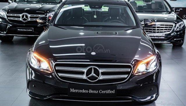 Bán xe Mercedes-benz E250, đăng ký 2018, màu đen/trắng/xanh/nâu, chỉ 2% thuế trước bạ