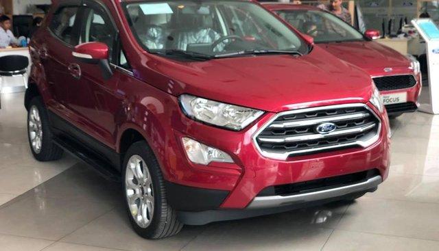 Bán xe Ford EcoSport Titanium, Trend và Ambiente 2019, khuyến mãi: BHVC, phim, camera, bệ bước, LH ngay: 091.888.9278