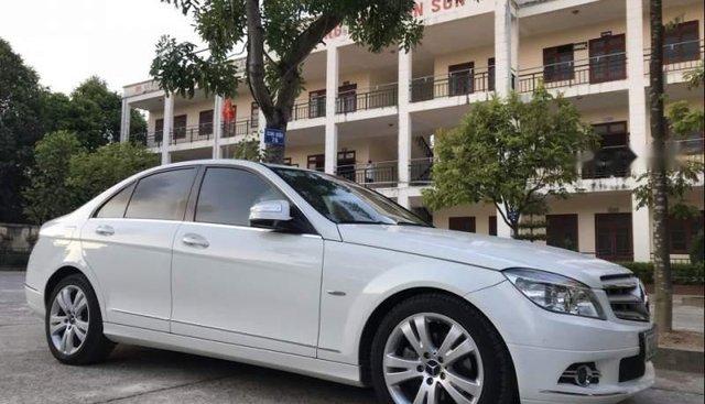 Cần bán gấp Mercedes C200 2008, màu trắng