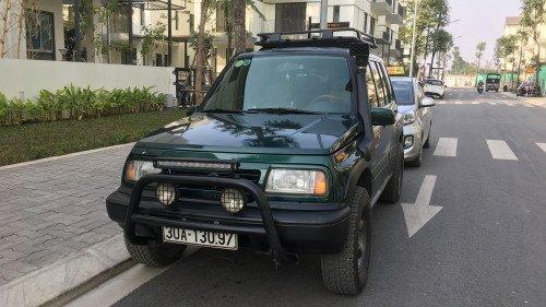 Chính chủ bán Suzuki Vitara 1.6 MT sản xuất 2005, màu xanh lục