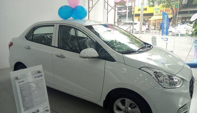Grand I10 1.2 Sedan giá tốt, chương trình khuyến mãi hấp dẫn, vay ngân hàng 90 %