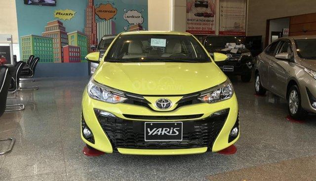 Xe Toyota Yaris 2019 số tự động nhập Thái Lan, xe mới 100% đủ màu, giao ngay