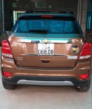 Bán xe Chevrolet Trax Turbo đời 2017, màu nâu, xe nhập