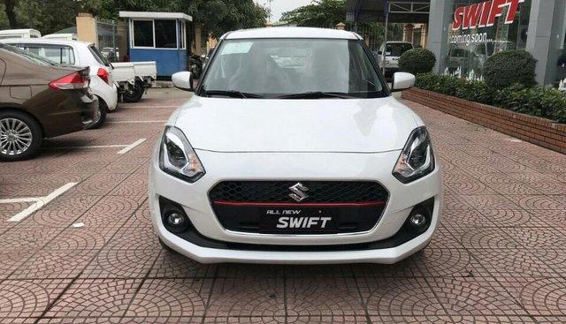 Bán Suzuki Swift GLX màu trắng, mới 100%, xe nhập khẩu, giá tốt liên hệ 0911.935.188