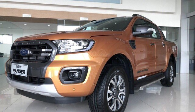 Ford Ranger Wildtrak Bitubor 2019 mới 100%, tặng ngay 50tr tiền mặt, LH 0907782222