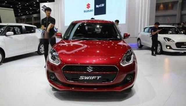 Bán Suzuki Swift năm sản xuất 2018, màu đỏ, xe nhập, giá 499tr
