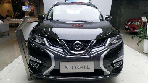 Bán Nissan X trail 2.5 AT đời 2019, màu đen, xe nhập